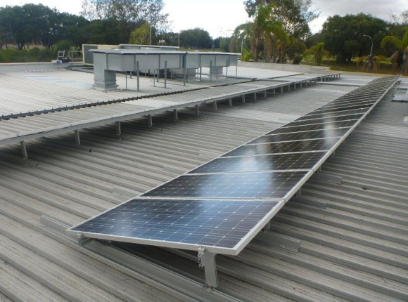 Duncraig Library; City of Joondalup – 11kW GC tilt frame