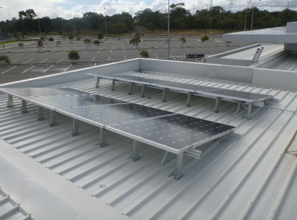 Success Sporting Facility; City of Cockburn – 8kW GC tilt frame multiple sub arrays