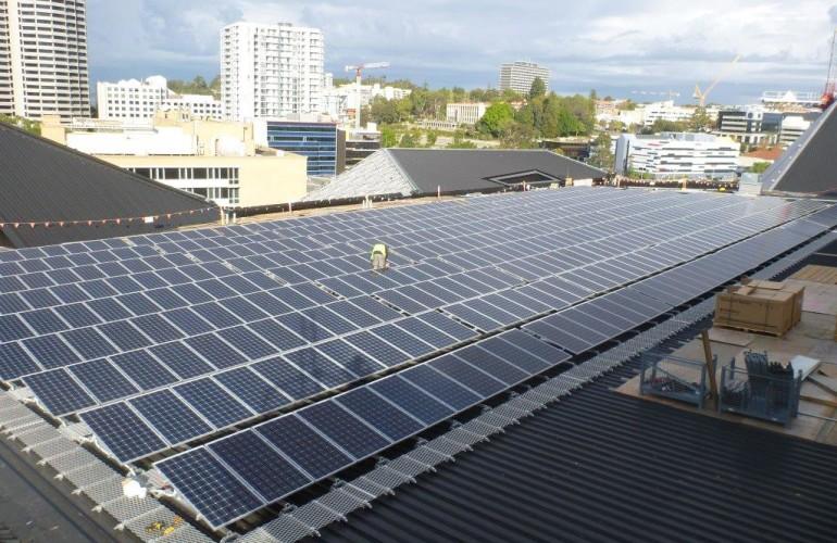 Perth Arena Commercial Solar