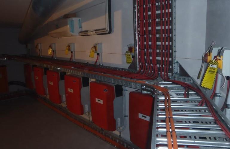 Perth Arena Inverter Room