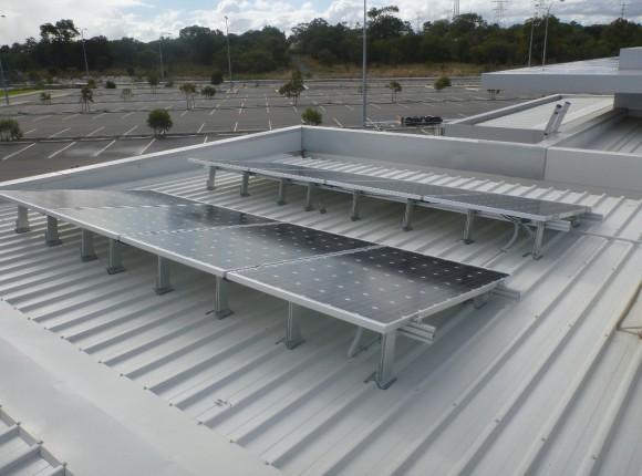 Success Sporting Facility; City of Cockburn – 8kW GC tilt frame multiple sub arrays
